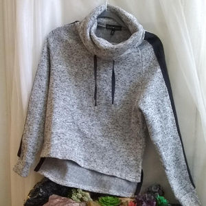 🖤🤍Derek Heart Soft Marled Hacci Knit Pullover